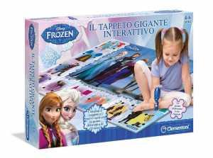 Clementoni 13304 - Frozen Tappeto Gigante Interattivo