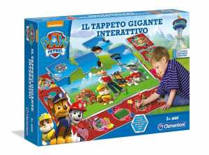 Clementoni 13321 - Paw Patrol Tappeto Gigante Interattivo