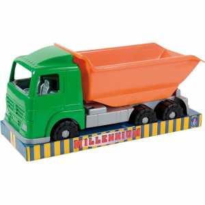Androni Giocattoli SRL-6080-000K-Camion Cantiere Vuoto-dimensioni 50cm