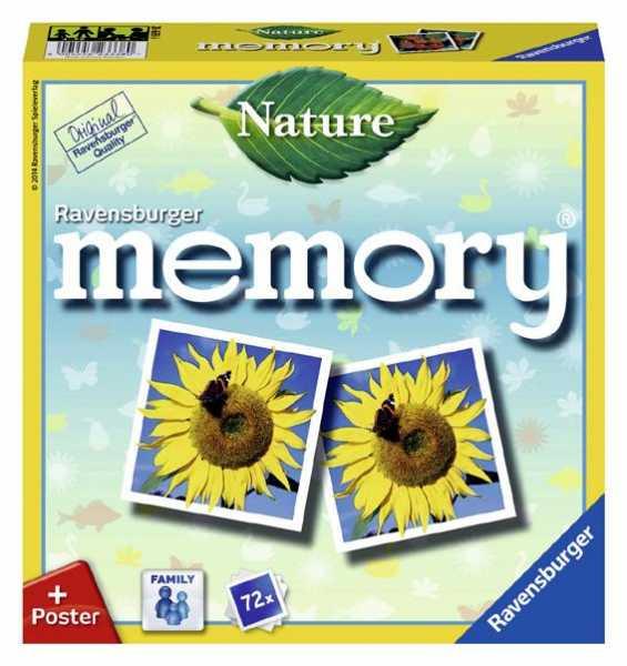 Ravensburger 26633 - Memory Natura Gioco Di Memoria