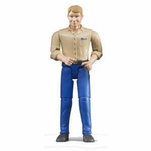 Bruder 60006 - Uomo Pelle Chiara Con Jeans