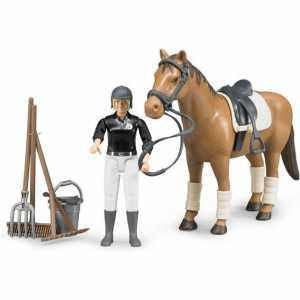 Bruder 62505 - Cavallerizza C/Cavallo E Accessori