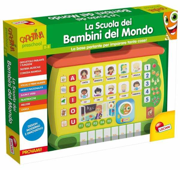 Lisciani Giochi 49837 - Carotina La Scuola Dei Bambini Del Mondo