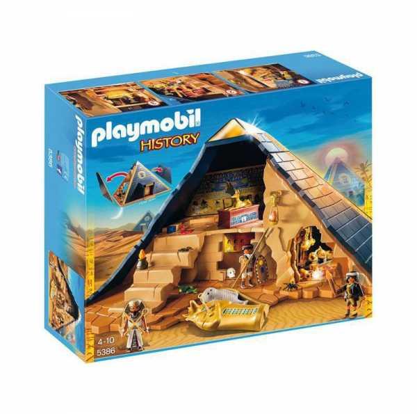 PLAYMOBIL PIRAMIDE FARAON (5386)