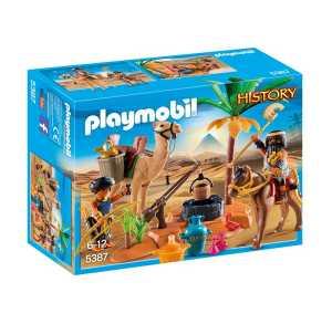 Playmobil 5387 - Cacciatori Di Tombe, Multicolore
