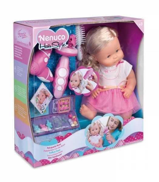 Famosa 700012385 - Bambola Nenuco Parrucchiera