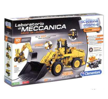 Clementoni 13960 - Laboratorio Di Meccanica - Mezzi Da Lavoro