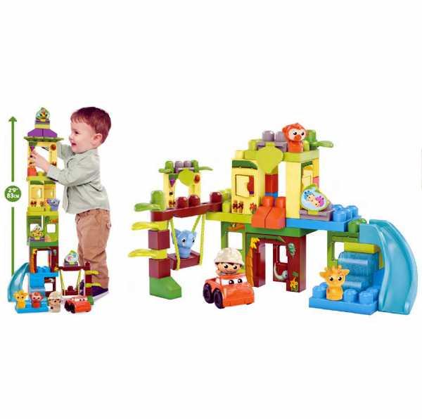 Mega Bloks DPJ58 - Set Costruzioni Il Safari