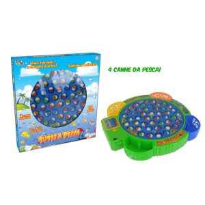Gioco Pesca Pesci 45 Pezzi - Toys Garden (26450)
