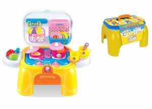 GIOCA SGABELLO CUCINA LUCI SUO - Toys Garden (26456)