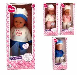 Globo Giocattoli Globo–3737941cm 4assortiti Bimbo Crying Doll