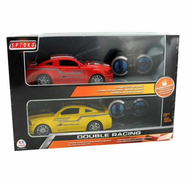 Auto Radiocomandata Double Racing 7 Funz. Scala 1:24 Globo 37856