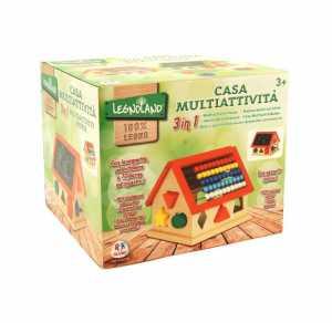 CASA ATTIVITA LEGNO INCASTRI - Globo (37878)