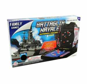 Family Games 37883 - Battaglia Navale Elettronica B/O Try Me