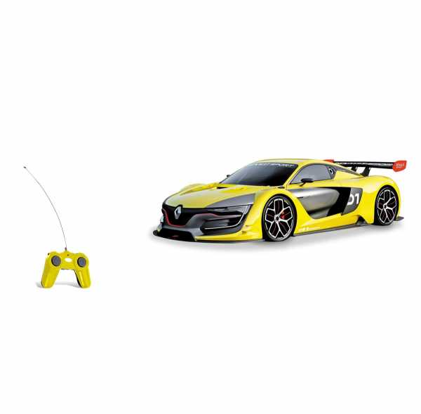 Mondo - Rs 01 Renault Veicolo Radiocomandato, Colore Giallo, Scala 1:24, 63363
