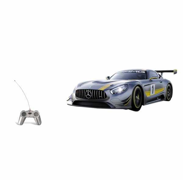 Mondo - Mercedes Amg Gt3 Veicolo Radiocomandato, Rosso, Scala 1:24, 63365