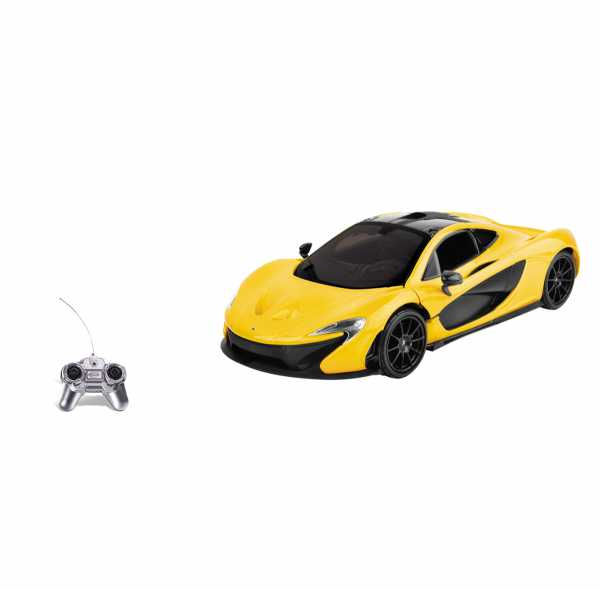Mondo Motors - MC Laren P1 -  Modello In Scala 1:24 - Fino A 20 Km/h Di Velocità - Auto Giocattolo Per Bambini - 63381