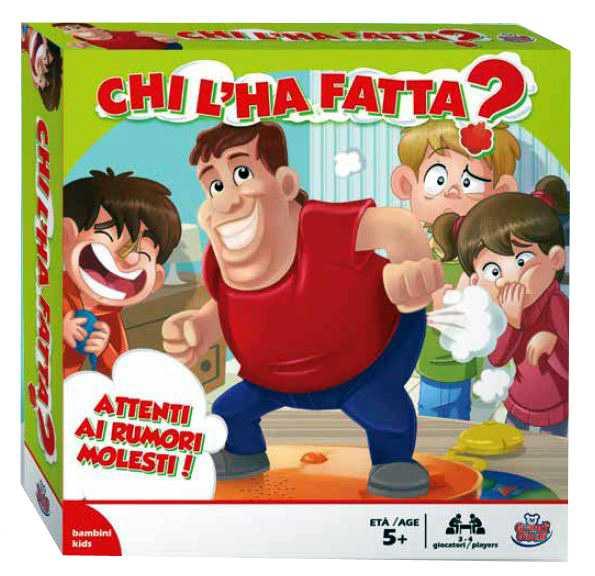 Grandi Giochi-Chi L'ha Fatta, Multicolore, GG00183