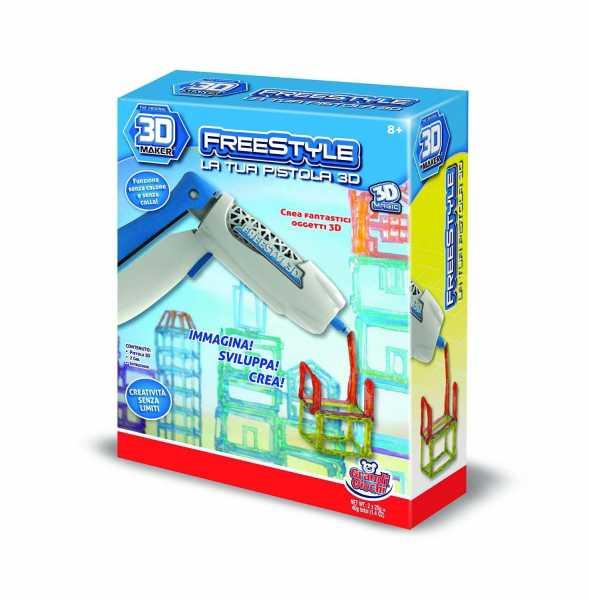 Grandi Giochi GG00151 - Il Tuo Laboratorio Pistola 3D
