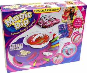 Grandi Giochi GG00280 - Il Tuo Laboratorio Dei Colori Magic Dip Kit Arte E Design