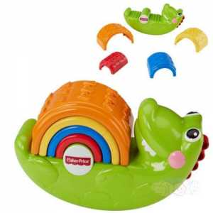 Fisher Price CDC48 - Coccodrillo Impila E Impara