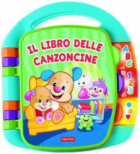 Fisher Price CDH49 - Il Libro Delle Canzoncine