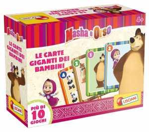 Lisciani Giochi Disney Masha Carte Giganti, 47871