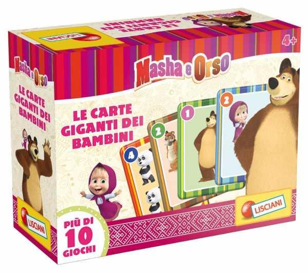 Lisciani 47871 - Masha Carte Giganti