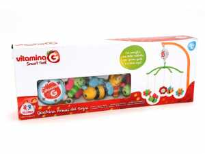 Vitamina G- Giostrina Music Con Pendenti, Multicolore, GLO801