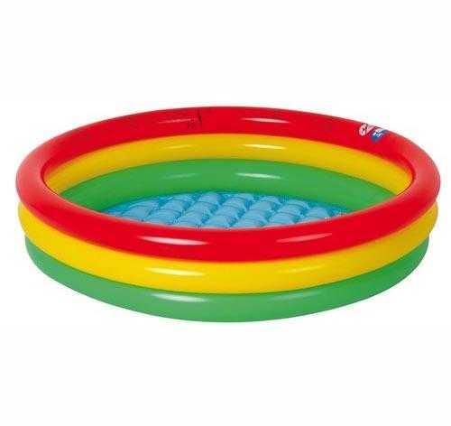 Jilong Baby Pool - Kinder Planschbecken Mit Aufblasbarem Boden Für Kinder Von 2 - 6 Jahren, Ø100 X 22 Cm