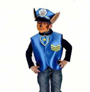 Set Cucciolo Poliziotto Casacca E Cappello - Carnival Toys (03380)