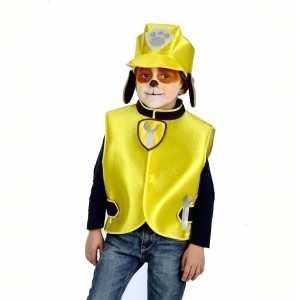 Set Cucciolo Lavori In Corso Casacca E Cappello - Carnival Toys (03381)