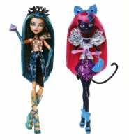 Bambola/e Monster High Bu York 2 Modelli - Mattel (Cjf30)