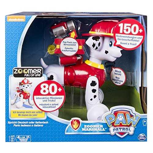 Paw Patrol 6031247 - Robotics Zoomer Marshall