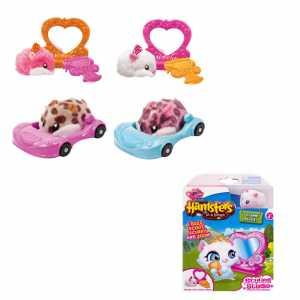 Hamsters In A House 6031570 - Kit Base Con Criceto Ed Accessorio, Personaggi Assortiti
