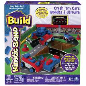 Kinetic Sand 6026967 - Playset Auto Da Scontro