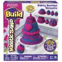 Kinetic Sand 6027479 - Set Di Gioco Build Playset Pasticceria