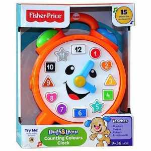 Fisher Price CDK11 - Orologio Conta Colori