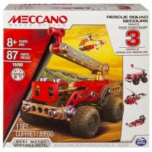 MECCANO RESCUE FORCE 80 Pezzi - Spin Master (6026714)
