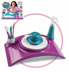 Cool Maker- Studio, Kit Di Lavorazione Con Ruota Per Ceramica Per Bambini Dai 6 Anni In Su (L'Edizione Potrebbe Variare), 6027865