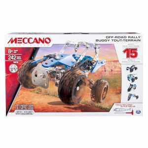 Meccano 6028580 - Set Costruzioni 15 Modelli Set Atv, Pezzi In Metallo