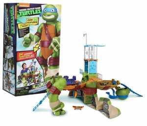 Giochi Preziosi Gpz95151 Turtles Gigante Trasformabile Leonardo
