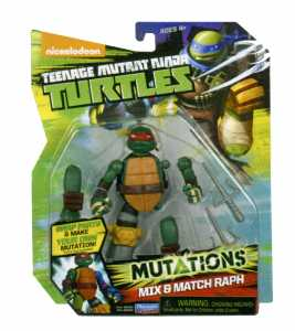 GIOCHI PREZIOSI TURTLES MUTATION ASS 2