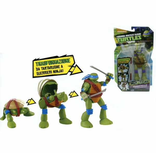 Ninja Turtles - Donatello Figura (Giochi Preziosi 91520)