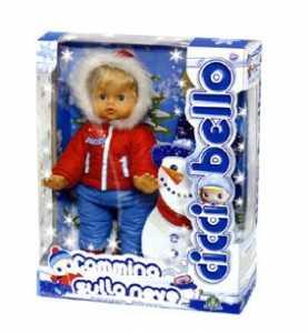 Giochi Preziosi - Cicciobello Cammina Sulla Neve, Bambola Camminante Con Attivazione Sonora
