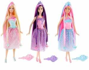 Barbie DKB59 Dreamtopia - Principessa Chioma Da Favola, Viola