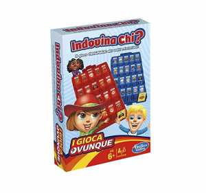 Hasbro Gaming - TRAVEL INDOVINA CHI