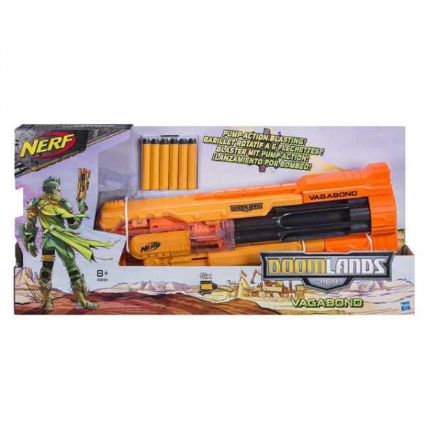 Nerf B3191EU4 - Pistola Di Lancia Dardi, Arancione