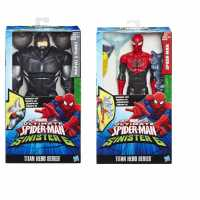 Spider-Man B5756EU4 - Figurina Spiderman Deluxe, Rosso/Nero