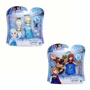 Hasbro B 5185 Frozen Mini Principesse, 1 Pezzo, Personaggi Assortiti
